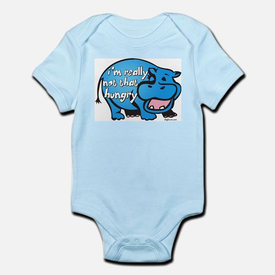 Not Hungry Hippo Infant Creeper