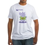 Hippo Fondue Fitted T-Shirt
