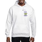Hippo Fondue Hooded Sweatshirt