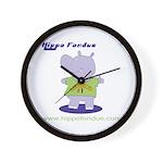 Hippo Fondue Wall Clock