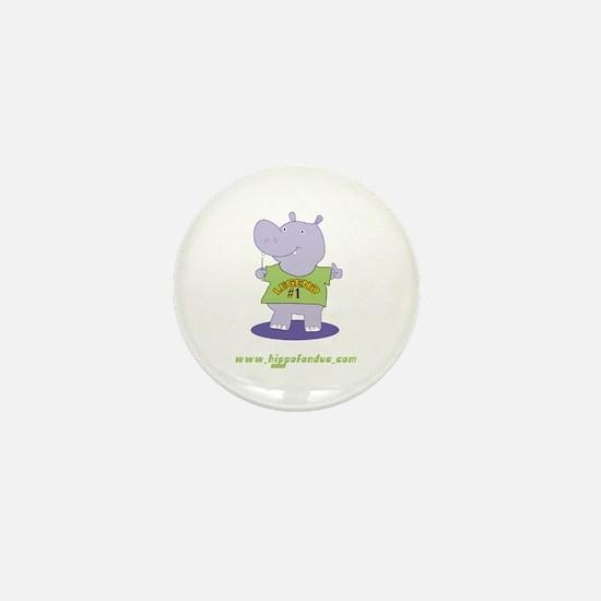 Hippo Fondue Mini Button
