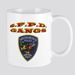 S.F.P.D. Gang Task Force Mug