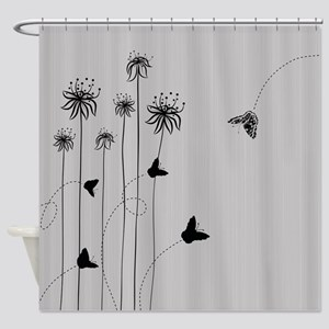 Hand-Draw Concept Shower Curtain