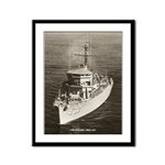 USS DYNAMIC Framed Panel Print
