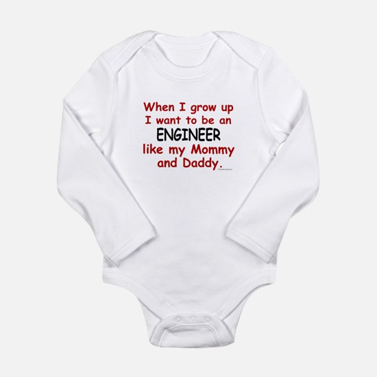 Unique Mechanical engineer Long Sleeve Infant Bodysuit