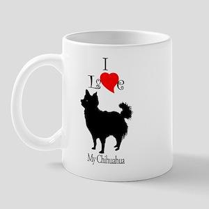 Chihuahua Longhair Mug