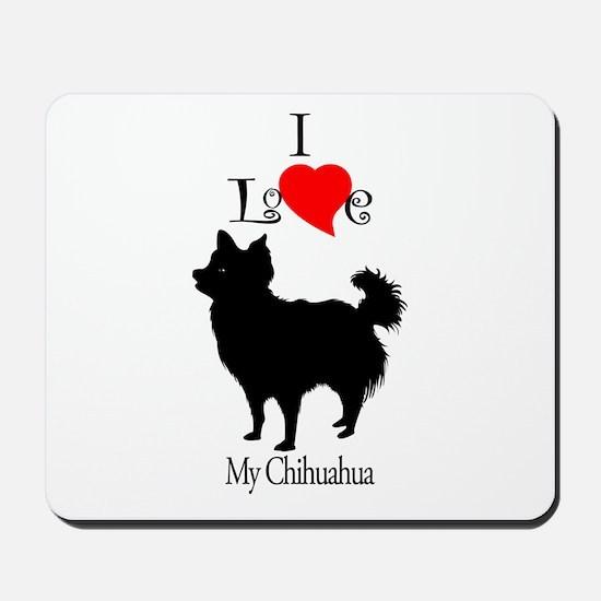 Chihuahua Longhair Mousepad