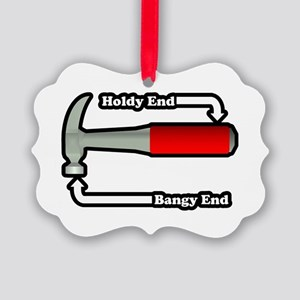 Hammer Ends Picture Ornament