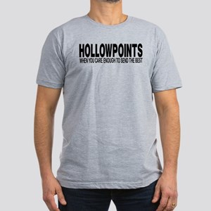 HOLLOWPOINTS Men's Fitted T-Shirt (dark)