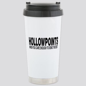 HOLLOWPOINTS Stainless Steel Travel Mug