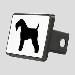 Kerry Blue Terrier Rectangular Hitch Cover