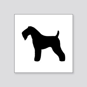 """Kerry Blue Terrier Square Sticker 3"""" x 3"""""""