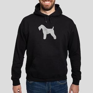 Kerry Blue Terrier Hoodie (dark)