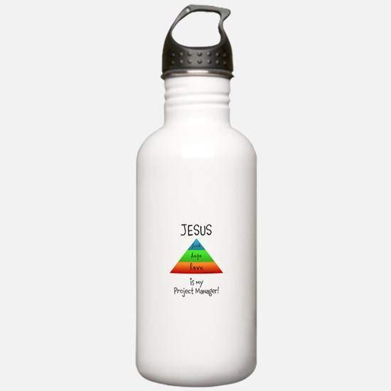 Project Manager Pyramid Chart Water Bottle