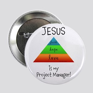 """Project Manager Pyramid Chart 2.25"""" Button"""
