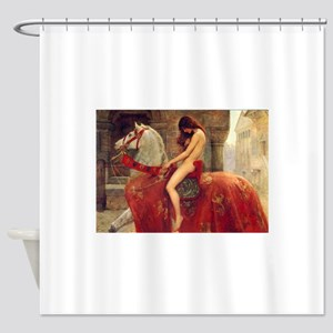 John Collier Lady Godiva Shower Curtain