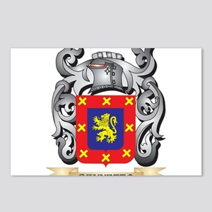 Bennetto Family Crest - B Postcards (Package of 8)
