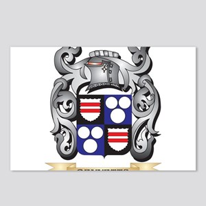 Bennetts Family Crest - B Postcards (Package of 8)