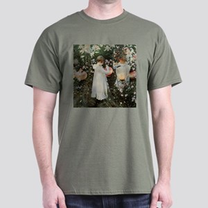 Sargent Carnation, Lily, Lily, Rose Dark T-Shirt