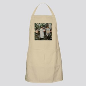 Sargent Carnation, Lily, Lily, Rose Apron