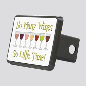 SO MANY WINES... Rectangular Hitch Cover