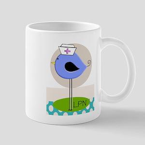 LPN bird purple Mug