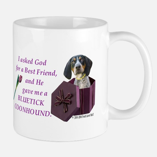 Bluetick Coonhound Mug