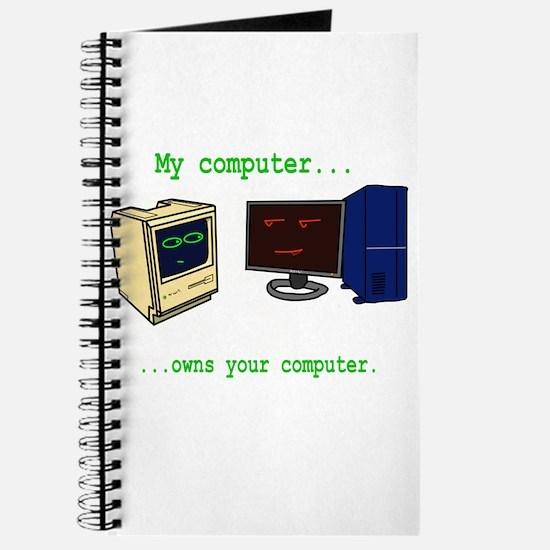 My Computer is better than yo Journal