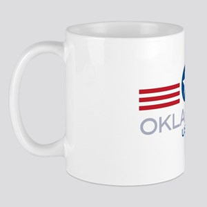 Oklahoma-Star Stripes: Mug