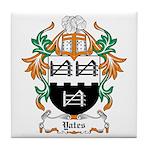 Yates Coat of Arms Tile Coaster