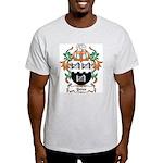 Yates Coat of Arms Ash Grey T-Shirt