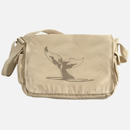Humpback Whale Tail Messenger Bag