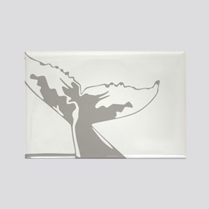 Humpback Whale Tail Rectangle Magnet