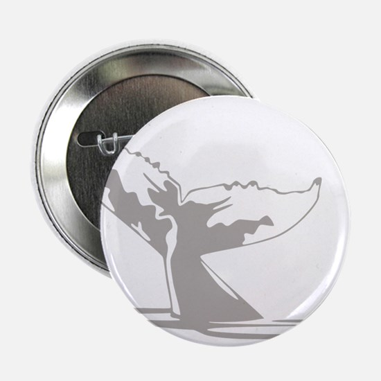 "Humpback Whale Tail 2.25"" Button"