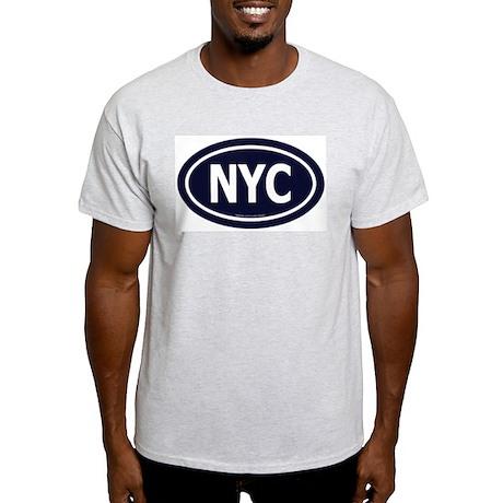 New York Euro Ash Grey T-Shirt