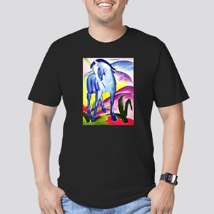 Franz Marc - Blue Horse I Men's Fitted T-Shirt (da