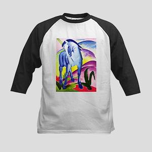Franz Marc - Blue Horse I Kids Baseball Jersey