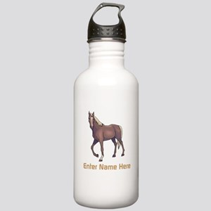 Personalized Horse Stainless Water Bottle 1.0L