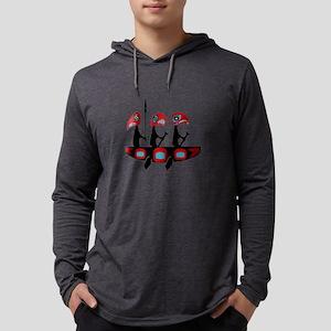 WAVES FORWARD Mens Hooded Shirt