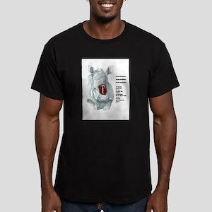 POACHER Men's Fitted T-Shirt (dark)