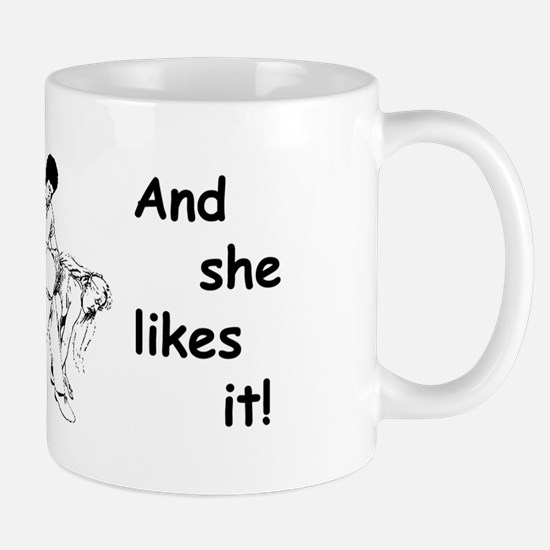 """Daddy Spanks Mommy and she likes it! Mug"