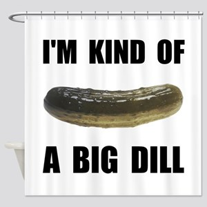 A Big Dill Shower Curtain