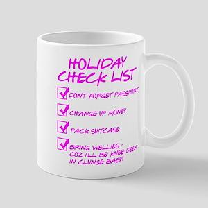 Holiday Check List Mug
