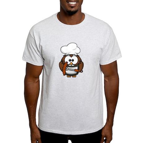 BBQ Cook Owl Light T-Shirt