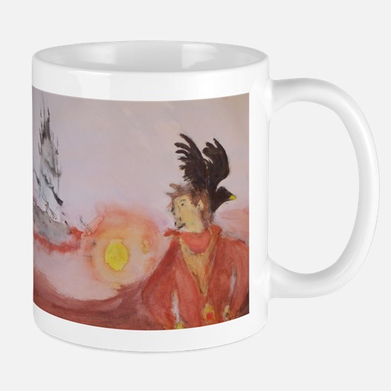 The Dark Tower Watercolor Painting Mug