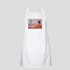 The Dark Tower Watercolor Painting Apron