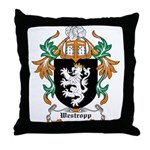 Westropp Coat of Arms Throw Pillow