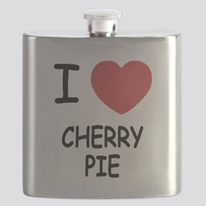 I heart cherry pie Flask