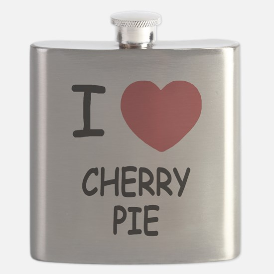 I heart cherry pie Flask