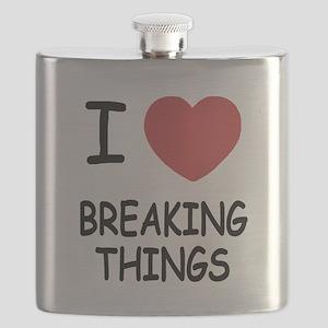 I heart breaking things Flask